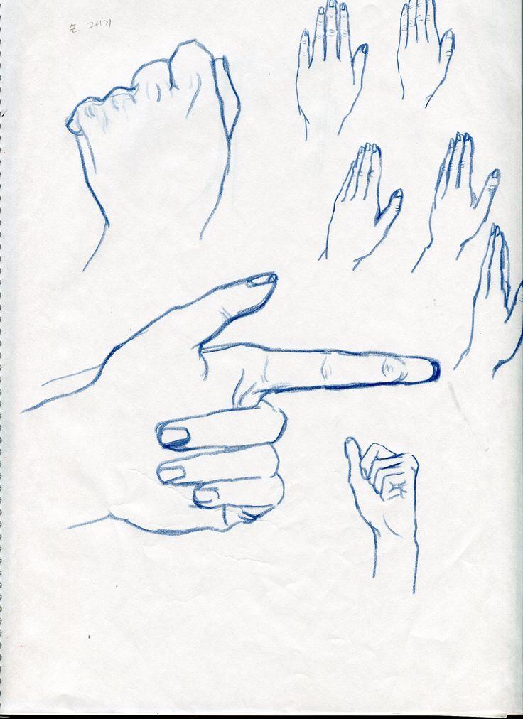 hadn drawing croquis /2014.12