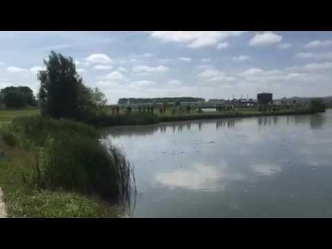 LC video: Straaljager neergestort bij Bitgum - YouTube