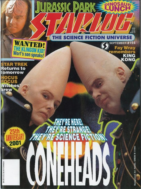 """Buy DVDs in mass quantities! Dan Aykroyd and Jane Curtin reprise their """"SNL"""" roles as Beldar and Prymat of the Conehead race. Also starring more """"SNL"""" (and some """"SCTV"""") regulars than most """"Saturday Night Live"""" sketch-based movies!"""