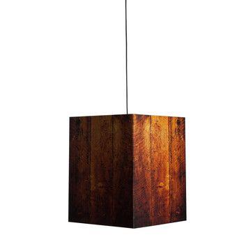 Heavy Pendant Lamp Wood Look  now featured on Fab 15 best Light Fixtures images on Pinterest   Lighting ideas  . The Dapper Llama Menlo Park Lamps. Home Design Ideas