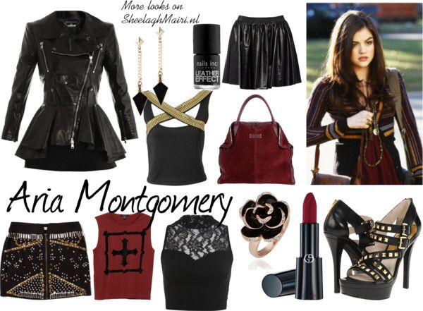 Dress like Aria Montgomery from Pretty Little Liars #polyvore #McQueen #MichaelKors #prettylittleliars http://sheelaghmairi.nl/2013/04/06/dress-like-aria-montgomery-from-pretty-little-liars/