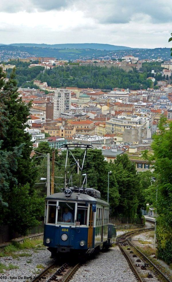 Trieste–Opicina tramway, Italy