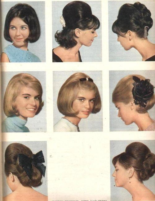 1960s hair-do's