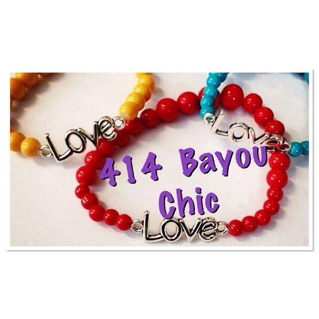 All we need is LOVE! #414 #bayouchic #getstacked