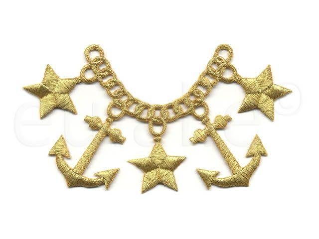    opstrijk applicatie anker    iron-on applique anchor   