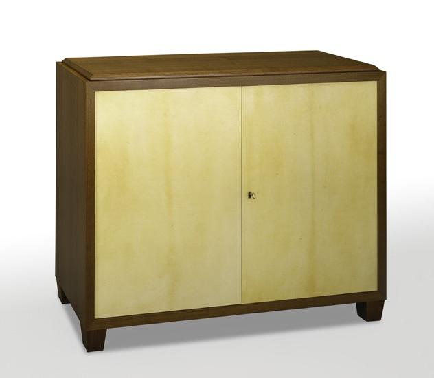 parchment u0026 walnut cabinet with tv lift mechanism see more cabinets u0026 armoires by atelier viollet