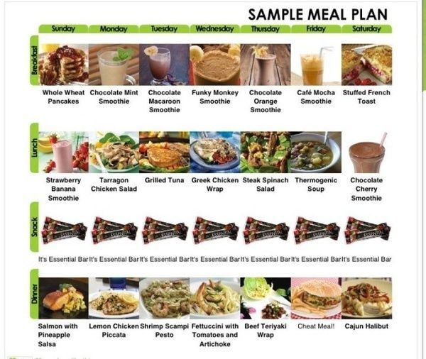 p90x nutrition plan lose weight