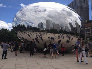 "Travel: Chicago's Cloud Gate ""The Bean"""