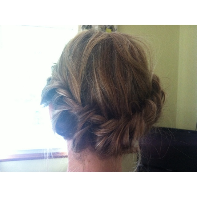 Loose halo braid: Halo Braid