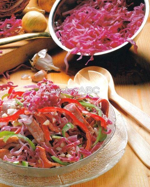 Vöröskáposzta-saláta | Receptek