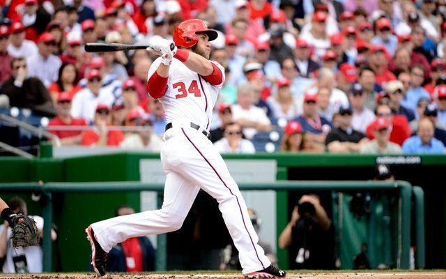 Video)Bryce Harper Goes Yard Twice In First Two At-Bats On Opening Day