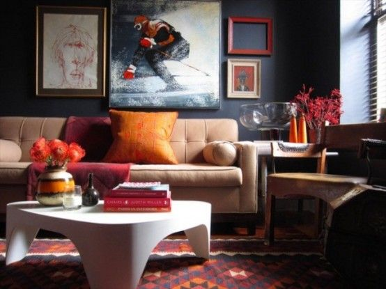 Room Living Eclectic By Marc Houston Lifestyle Interiors