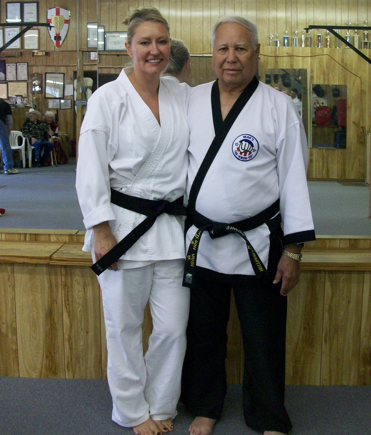 Tested for my !st degree Black Blet, under Grand Master Vann.