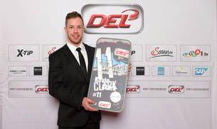 """DEL- Eishockey-""""Pitbull"""" Kevin Clark ist bester DEL-Spieler der Saison-Hockeyweb.de"""