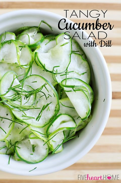 how to make sliced dill pickles from cucumbers