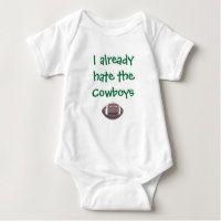 I Already Hate the Cowboys - Eagles Baby Bodysuit