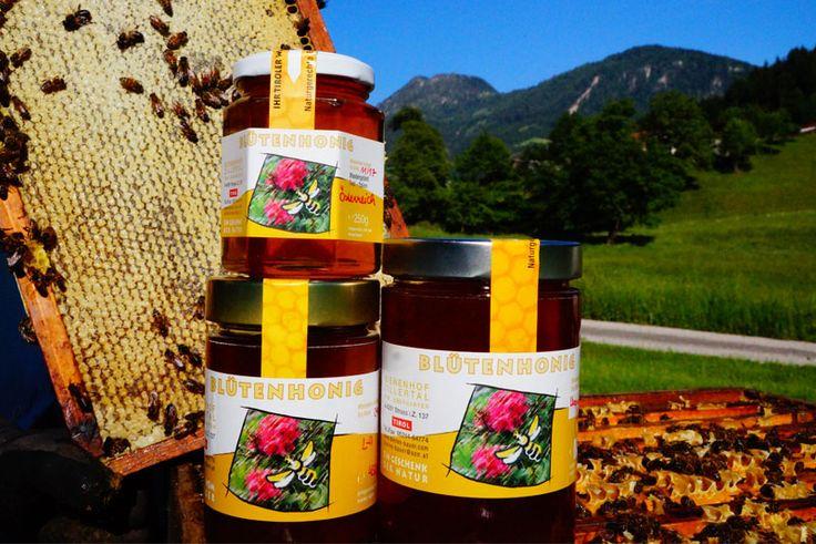 Blütenhonig vom Bienenhof Zillertal