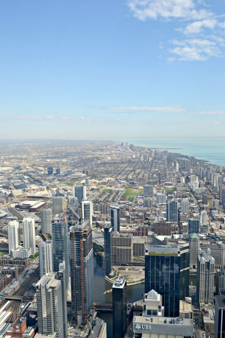 TRavel: Chicago Reise Lake Michigan Skyline Willis Tower #willistower #skyline #chicago #reise #travel #usa #illinois #lakemichigan #nordamerika