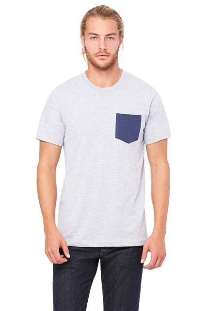 Bella + Canvas - Men´s Jersey short sleeve Pocket T-shirt