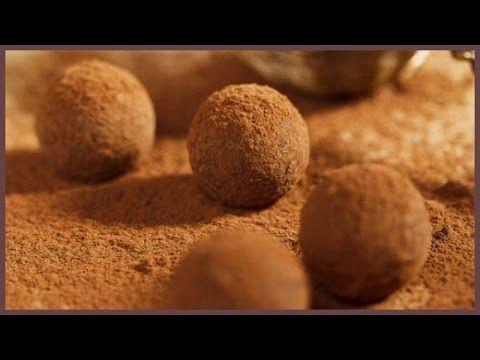Трюфели. Шоколадные трюфели рецепт. Шоколадные конфеты своими руками. Рецепт шоколадных конфет. - YouTube
