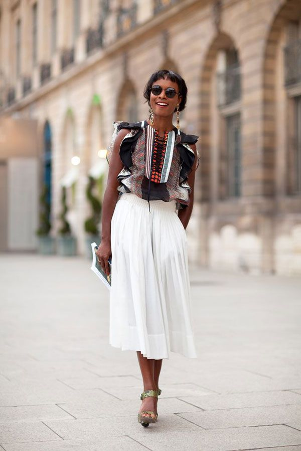 17 Best ideas about White Midi Skirt on Pinterest   Midi skirt ...