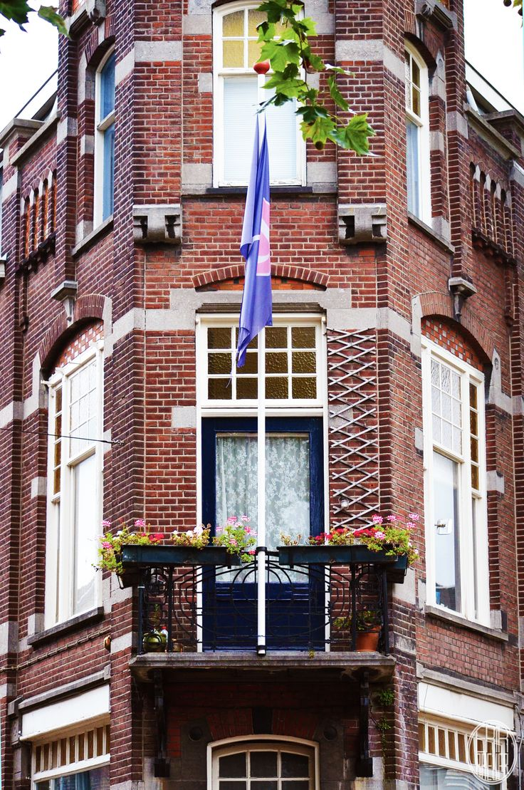 One of the many student houses among the city - Tilburg