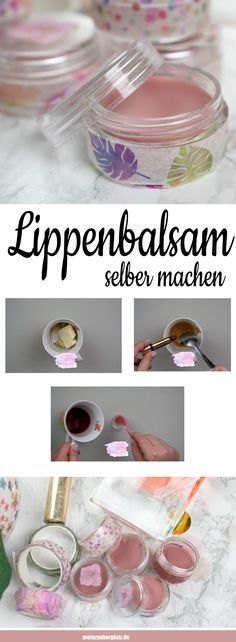 Making a lip balm itself is great for making cosmetics yourself. Cosmetics free of chemicals. This simple recipe to make cosmetics yourself …