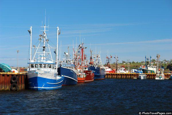 Caraquet Harbor, New Brunswick