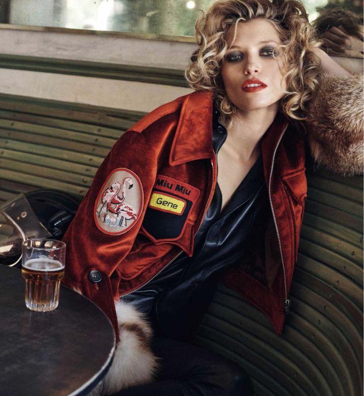 Hana Jirickova  by Benny Horne for Vogue Spain, Style by Sara Fernández