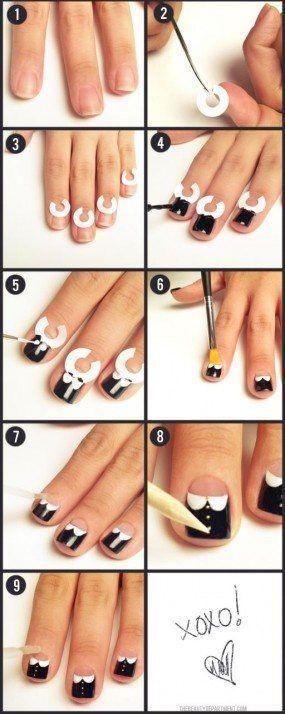 Figuren op je nagels lakken, | Nagellakker-nagellak.jouwweb.nl