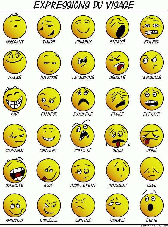 #french #emoticons