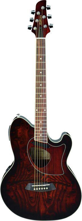 Ibanez TCM50 NT Talman Series Double-Cutaway Acoustic-Electric Guitar | Natural
