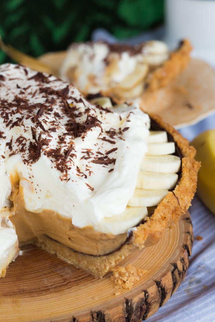 Banoffee Pie – Torta de banana com doce de leite   Vídeos e Receitas de Sobremesas