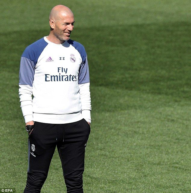 Real Madrid manager Zinedine Zidane's side beat Eibar 4-1 away last time out in La Liga