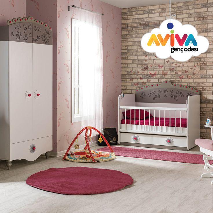 Dantella  #avivamobilya #avivagencodasi #bebekodasi #cocukodasi #gencodasi #karyola #yatak #gardrop #beşik #cekmece #calismamasasi #masa #kitaplık #mobilya #furniture #dekorasyon #decoration #bebek #cocuk #genc #youngroom #kidsroom #babyroom #beyazoda #whiteroom #baby #kid #young