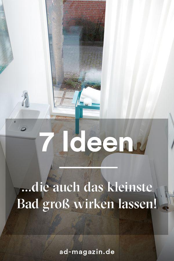 Mit Diesen Handgriffen Richten Sie Ihr Kleines Bad Ein Kleines Bad Einrichten Kleine Bader Kleine Badezimmer