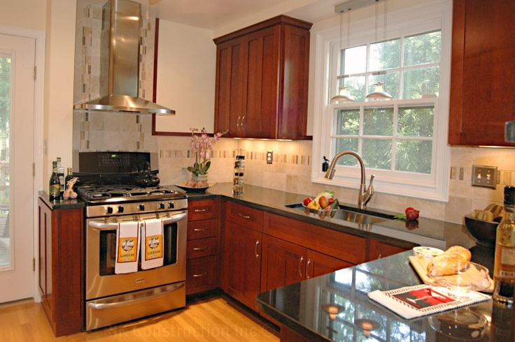 classic kitchen with archway rjk construction inc