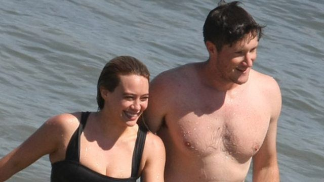 Hilary Duff Cozies Up to Businessman Ely Sandvik On the Beach — See the Pics!