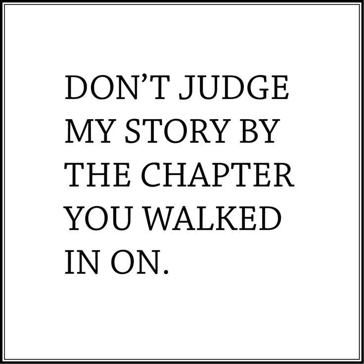 #dontjudge