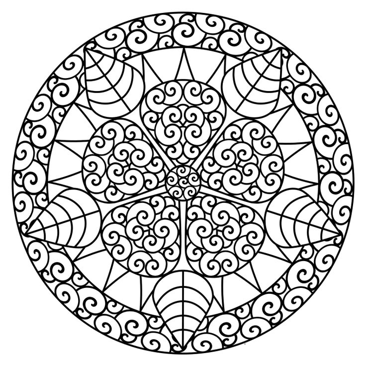 mandalas coloring pages for the adults mandalas coloring pages for