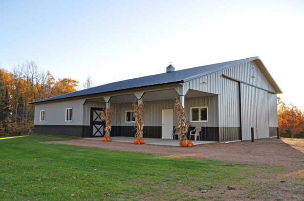 17 best images about pole barn on pinterest pole barn for Pole shop plans