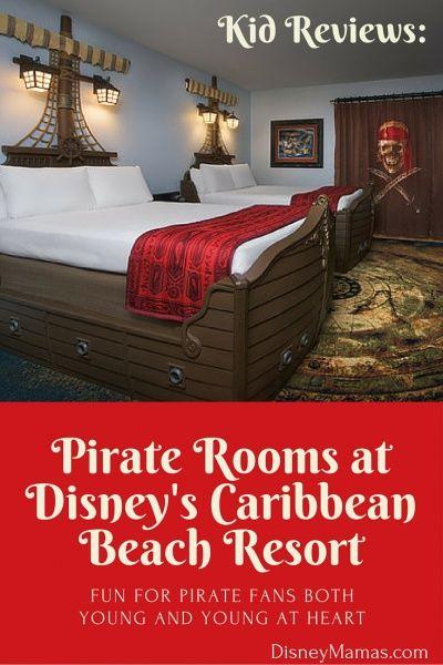 Kid Reviews: Pirate Rooms at Disney's Caribbean Beach Resort
