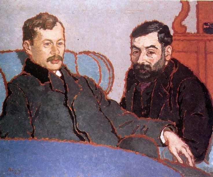 József Rippl-Rónai - Petrovics, Elek és Meller, Simon 1910
