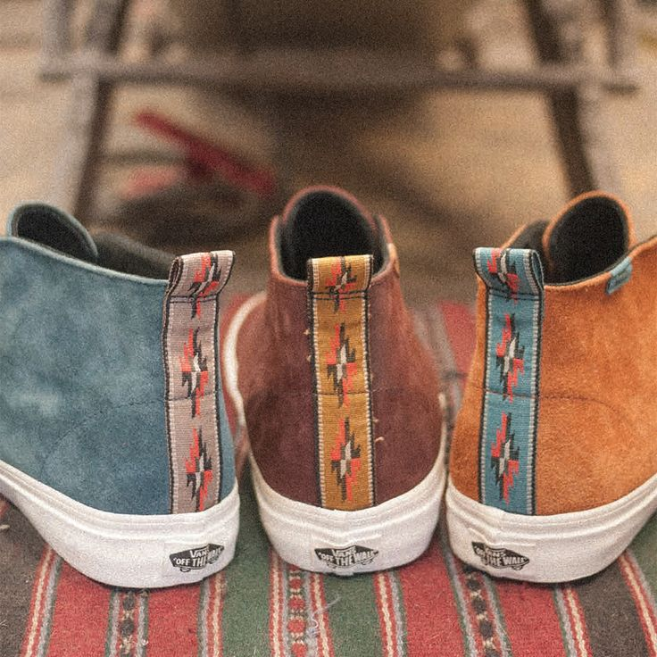 "Vans California ""Suede and Woven Textiles"" Collection"