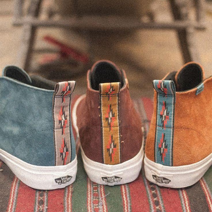 Suede Chukka Decon -  Vans California Collection