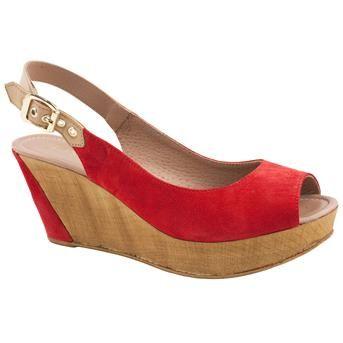 Wedge heeled sandals from Jones Bootmaker