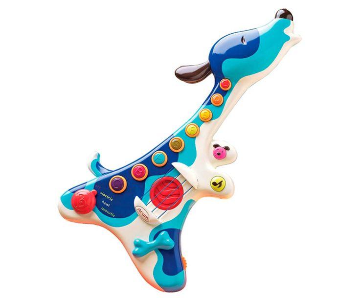 Con la Guitarra para niños perrito musical tus hijos se divertirán creando música y experimentandolas diferentesmelodías en diferentes formas.