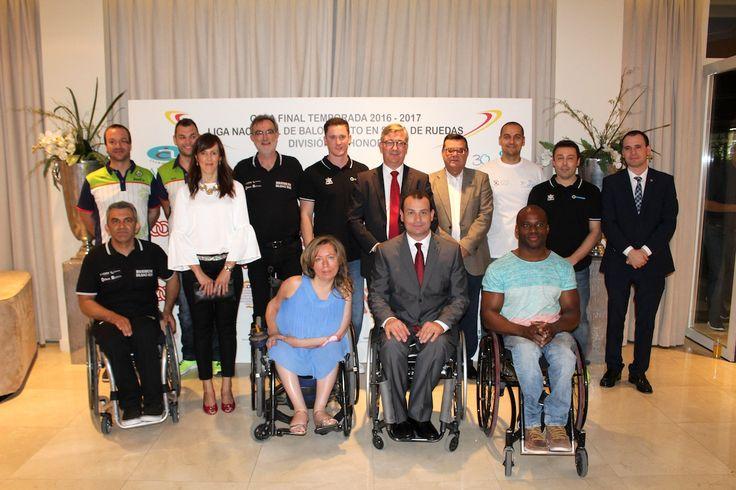 GALA FINAL DE TEMPORADA 2016-2017 DE LA LIGA NACIONAL DE BALONCESTO EN SILLA DE RUEDAS  Ayuntamiento de Albacete BSR Amiab Albacete Más deportes Noticias deportes