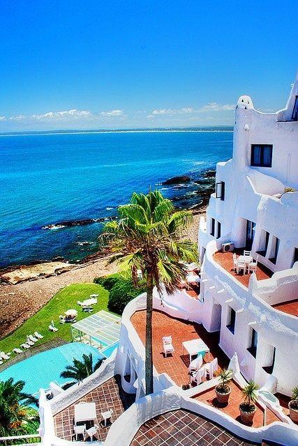 Casapueblo, Uruguay. Really an amazing home and hotel.