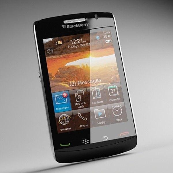 3Ds Blackberry Storm2 9520 - 3D Model